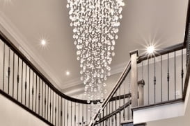 Chandelier Installation / Hanging